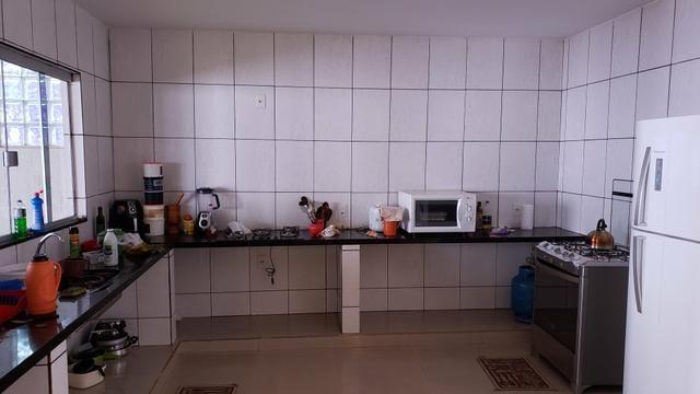 Casa 3quartos suíte piscina churrasqueira lote 830m2 rua 8 Vicente Pires condomínio - Foto 9