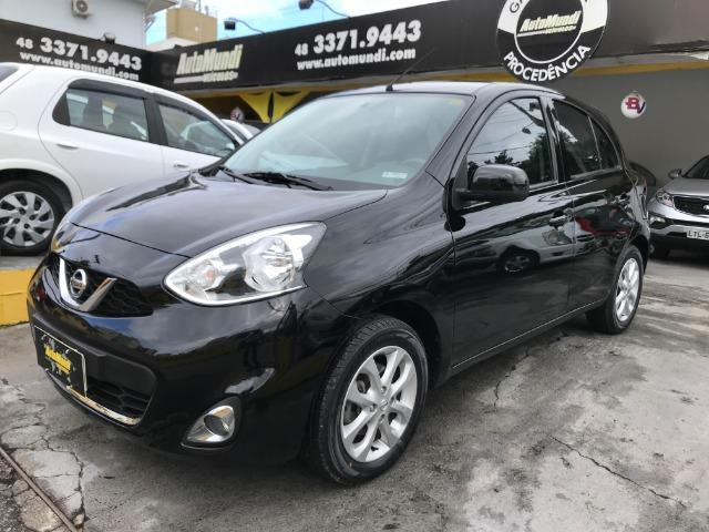 Nissan march 1.0 FLEX sv completo 2015