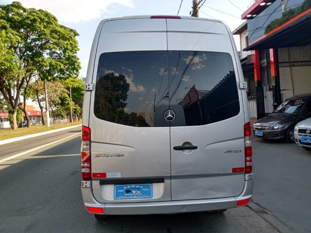 Sprinter 2.2 415 Luxo Teto Alto 16 Lugares 2018 - Novíssima!!! - Foto 6