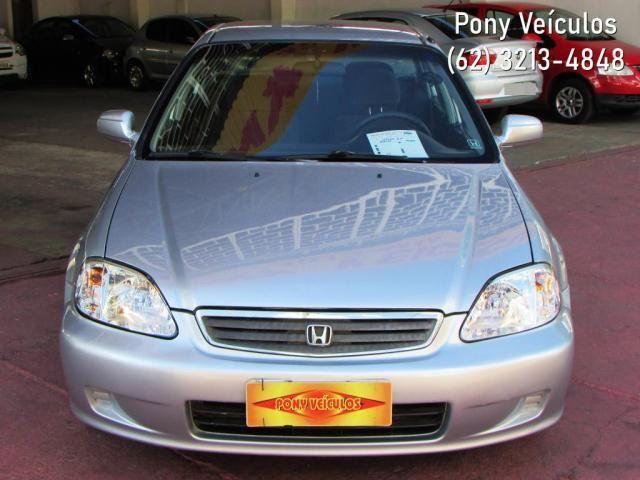 Honda Civic Sedan LX 1.6 16V Aut. 4p - Foto 9