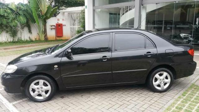 Corolla Brindado Completo automático 2005 valor 18.000 mil na troca considerado a tabela - Foto 2