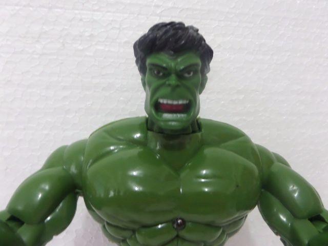 Boneco Hulk Mais Mascara e Led Grande 28 Cm - Foto 4