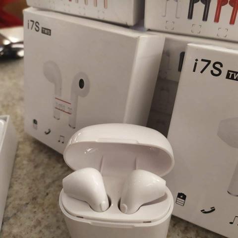 Fones Bluetooth I7s - Foto 2