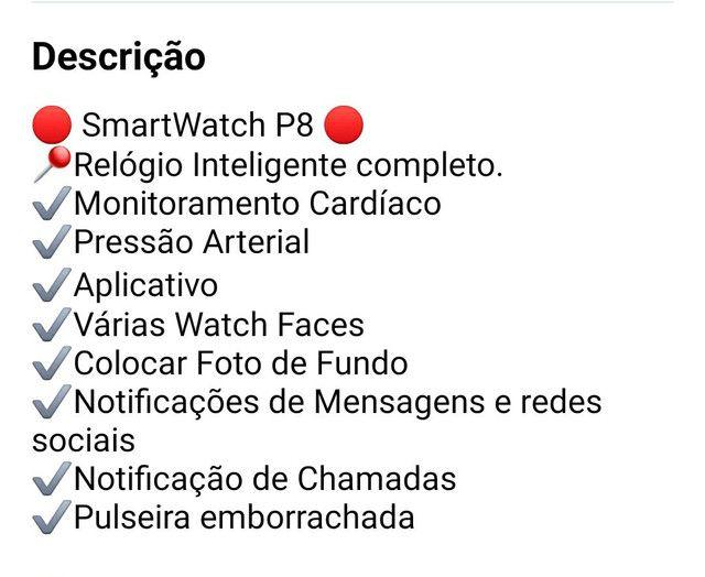 Relógio inteligente smartwatch Colmi p8 original pronta entrega! - Foto 3