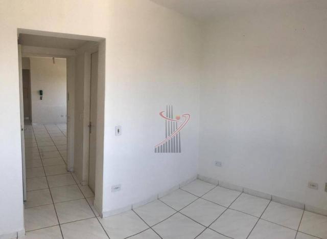 Apartamento com 1 dormitório para alugar, 48 m² por R$ 1.050,00/mês - Centro - Foz do Igua - Foto 10
