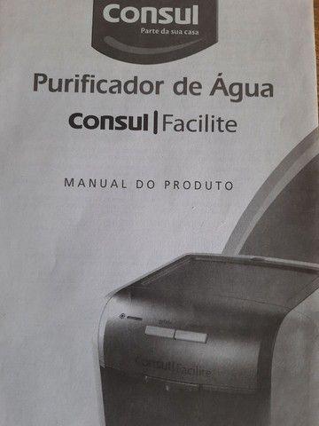 Purificador de água consul