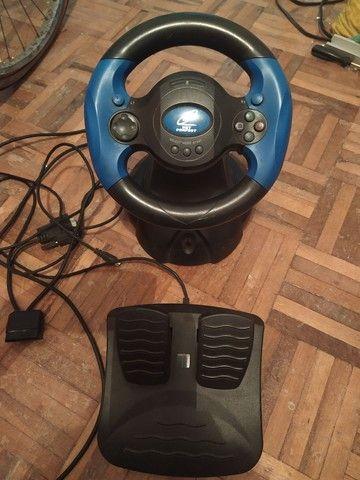 Volante e Joystick Playstation/PC - Foto 5
