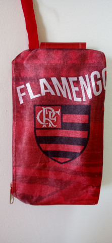 Necessaire porta celular Flamengo - Foto 2