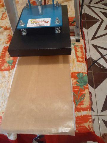Máquina de estampar camiseta da compacta print  - Foto 3