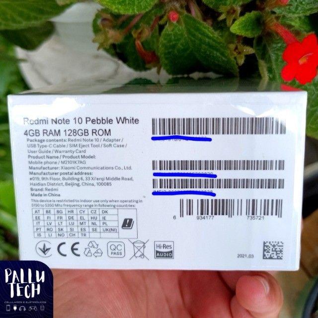 Imperdível! Redmi Note 10 128GB Lacrado - Foto 5