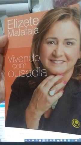 Vivendo Com Ousadia Elizete Malafaia ótimo Estado - Foto 2