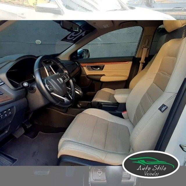 Honda CR-V Touring 2019 Branco Completo  - Foto 4