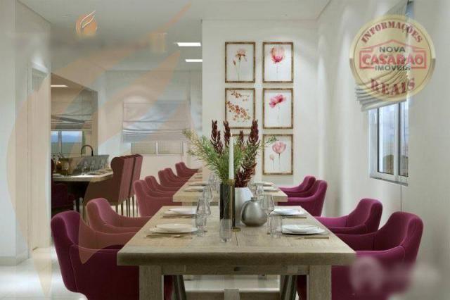 Apartamento com 2 dormitórios à venda, 93 m² por R$ 465.000 - Aviação - Praia Grande/SP - Foto 16