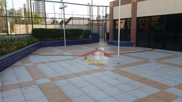 Apartamento com 3 dormitórios para alugar, 113 m² por R$ 1.800,00/mês - Fátima - Fortaleza - Foto 5