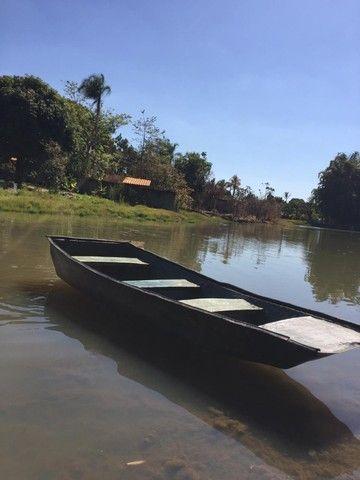 Canoa de fibra 3,5 metro  - Foto 2