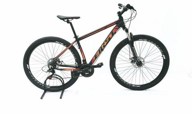 Bicicleta first aro 29 câmbios Shimano tourney  mais barata do brasil - Foto 3