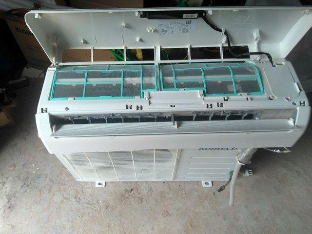 Ar-condicionado 12 mil BTUs  - Foto 3
