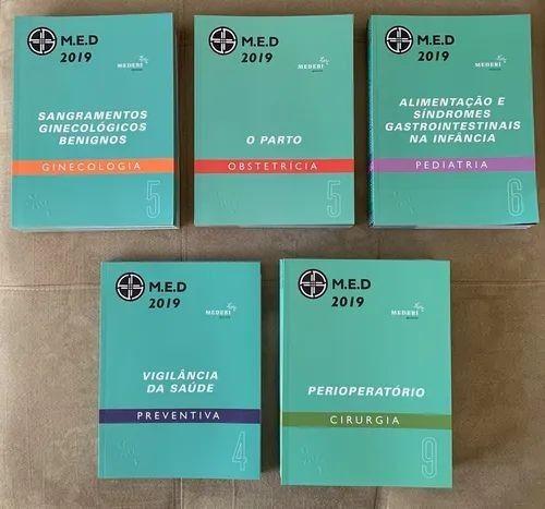 Livros do med curso edição 2019