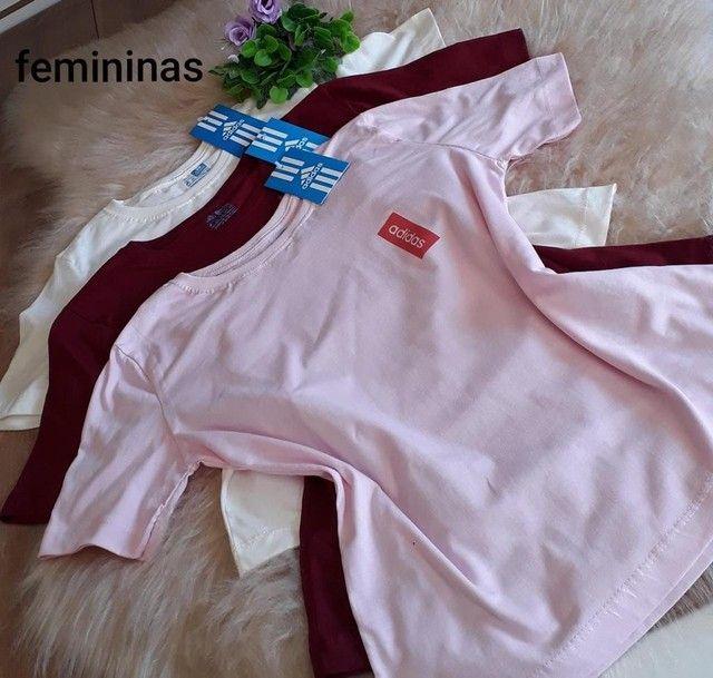 Camisas femininas  - Foto 2