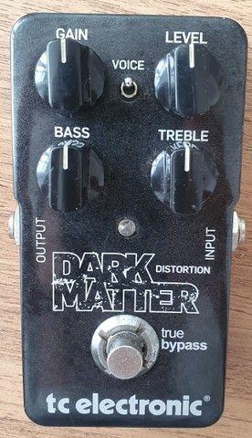 Pedal (usado) Guitarra Dark Matter Distortion - TC Electronic - Foto 2