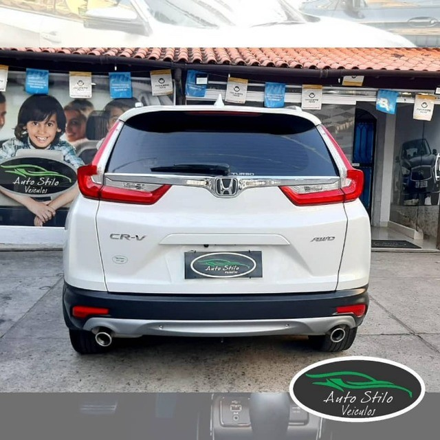 Honda CR-V Touring 2019 Branco Completo  - Foto 10