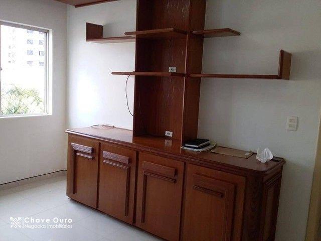Apartamento com 2 dormitórios para alugar, 95 m² por R$ 1.100,00/mês - Centro - Cascavel/P - Foto 3