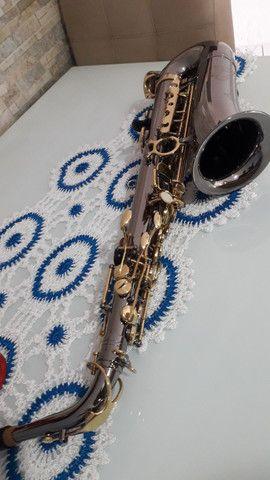 SAX saxofone EAGLE SA 500 onix lindo  - Foto 3