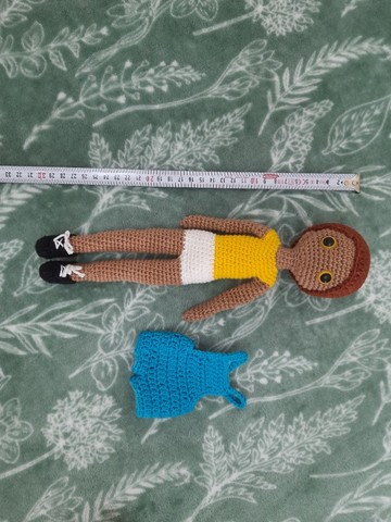Boneco Caio em amigurumi - Foto 3
