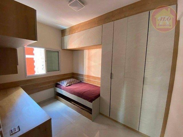 Apartamento com 2 dormitórios à venda, 70 m² por R$ 359.000 - Tupi - Praia Grande/SP - Foto 9