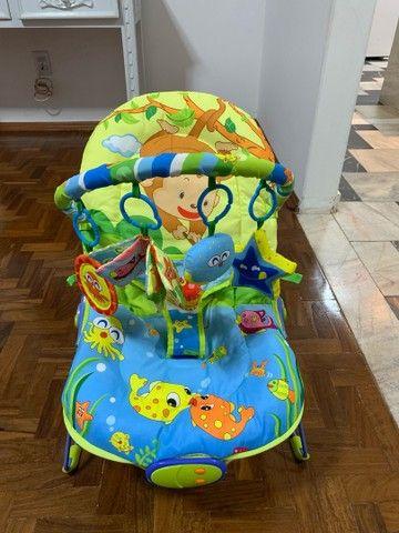 Cadeira de Descanso Baby Style Lite Aqua - 0 a 11kg - Foto 6