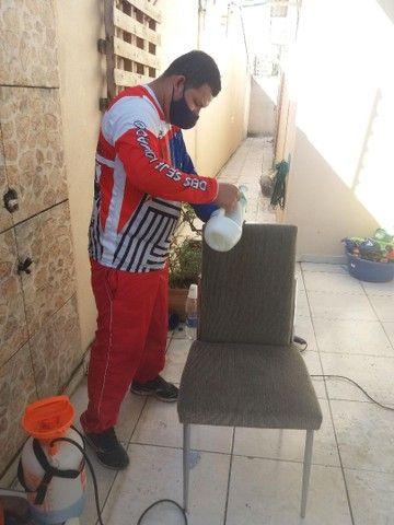 Higienização em Cadeiras