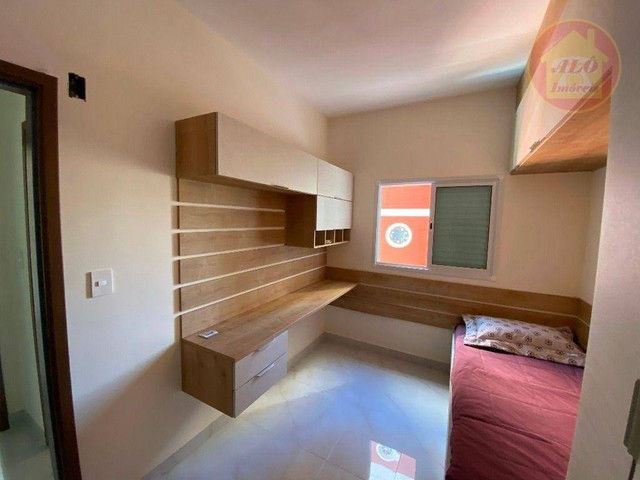 Apartamento com 2 dormitórios à venda, 70 m² por R$ 359.000 - Tupi - Praia Grande/SP - Foto 10