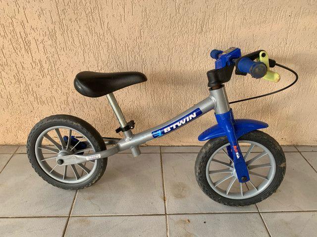 Bicicleta infantil para equilíbrio sem pedal