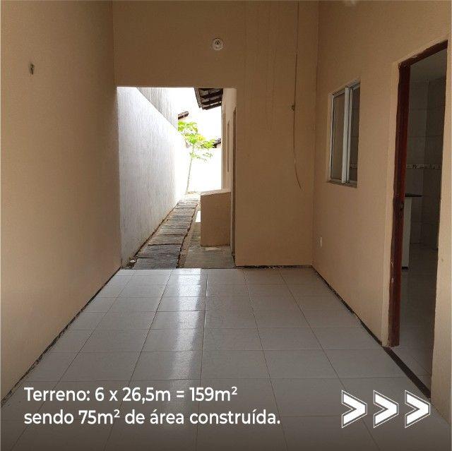 Vendo casa à 5 minutos do centro de Eusébio. - Foto 4