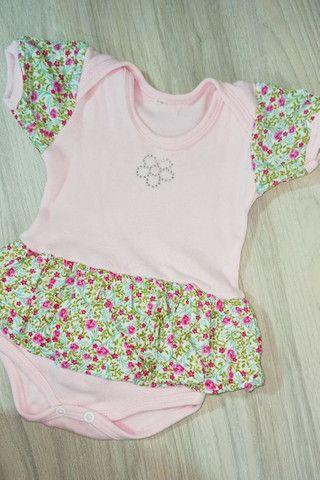 02 Vestidos body bebê menina - Foto 3