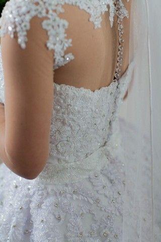 Vestido de Noiva 2 em 1 - Foto 5