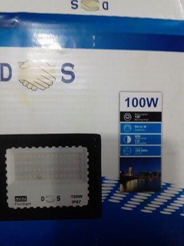 Refletor led 100w a prova d'água  - Foto 4
