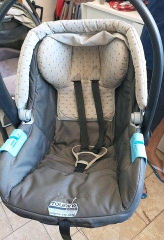Carrinho com bebê conforto - Foto 5