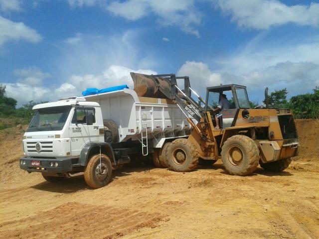 Vendo ou troco em cavalinho mecânico caminhão 2009 basculante 2016