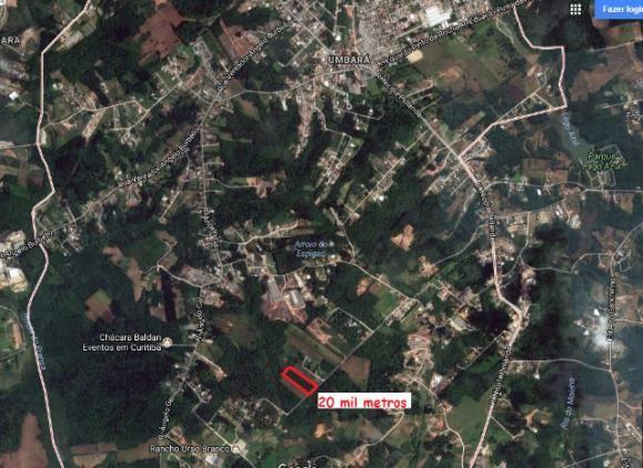 Terreno Bairro Umbará 20.166,00 metros 2