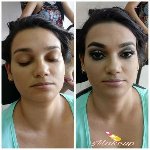 Makeup?penteado profissional