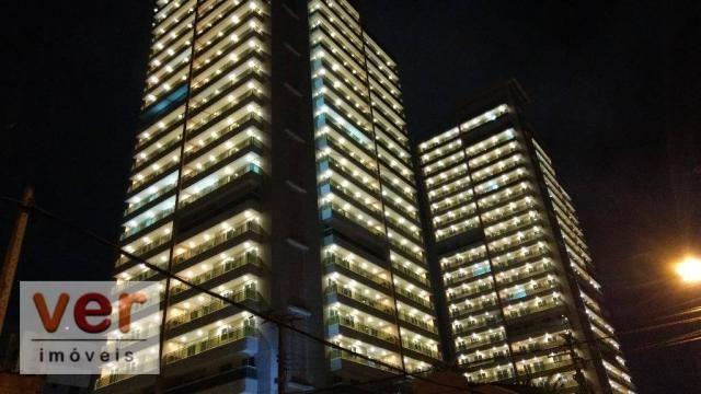 Vendo excelente apartamento no Reservatto Condomínio, com 74,05 m² de área privativa.