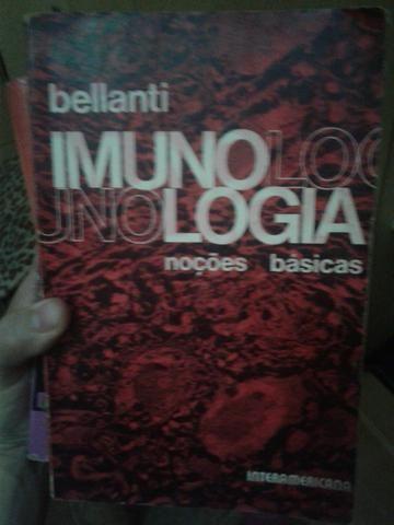 Livro sobre Imunulogia, autor Belcanti