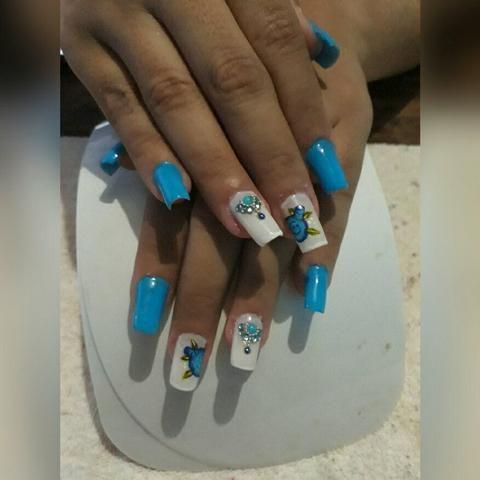 ALONGAMENTO de unhas manicurecure e pedicure adomecilio desaigne de sobrancelha - Foto 2