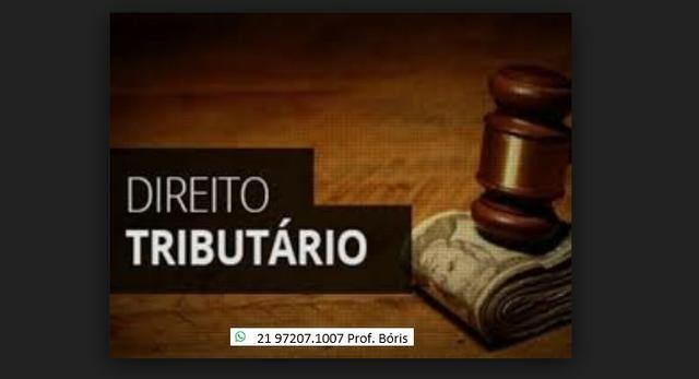 Aulas particulares de Direito Tributário
