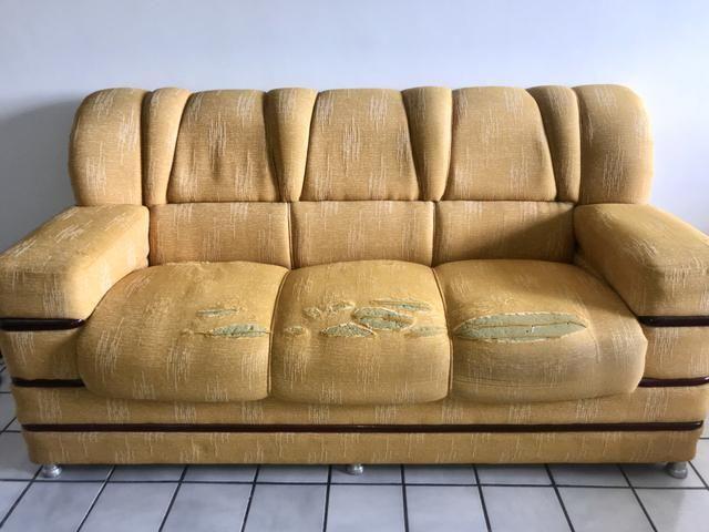 Conjunto de Sofá elegantes de madeira alta qualidade - Foto 4