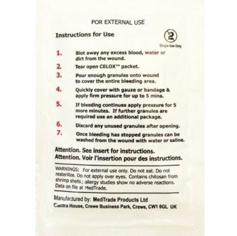 Celox para o sangramento rápido / Kit de primeiro socorro - Foto 3