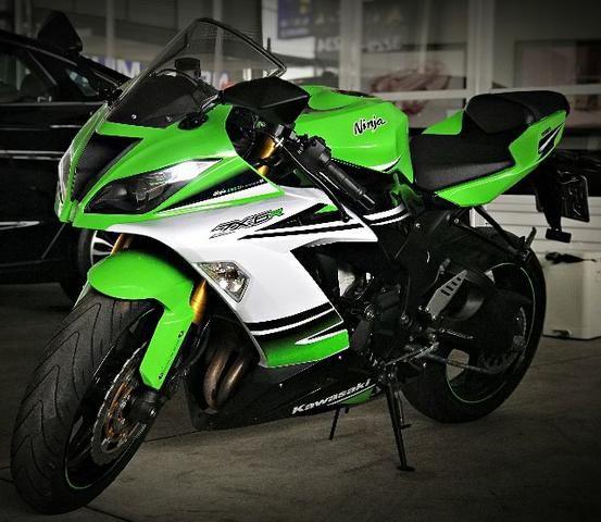 Kawasaki Ninja ZX 6R 636. Verde 2014/2015