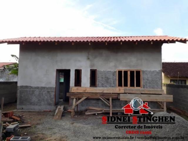 Casa c/ suíte em amplo terreno, em Bal. Barra do Sul - SC. - Foto 15