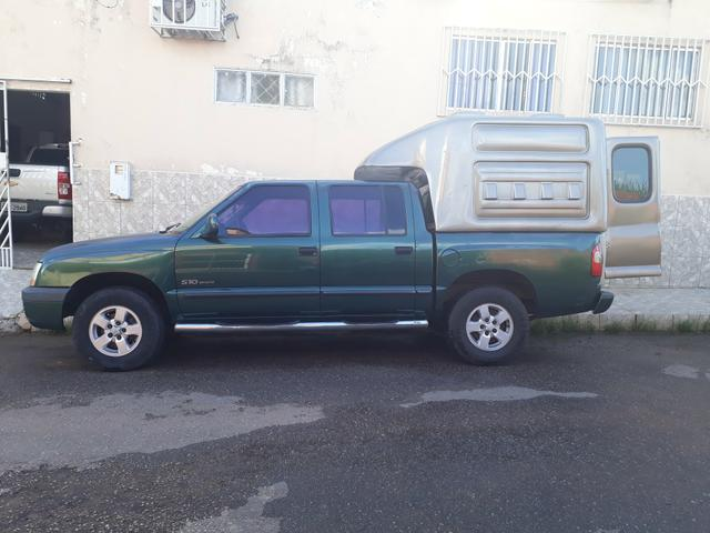 S10 2002 Capota de Fibra